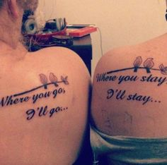 Our scripture  52 matching tattoos