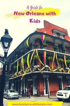 Planning a trip? New Orleans is a great family destination. This post gives you all the best things to do with kids in New Orleans where to eat where to stay and where to play! Usa Travel Guide, Travel Guides, Travel Tips, Travel Advice, Travel With Kids, Travel Usa, Family Travel, Canada Travel, New Orleans With Kids