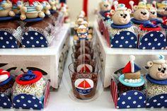 festa ursinho marinheiro - Pesquisa Google