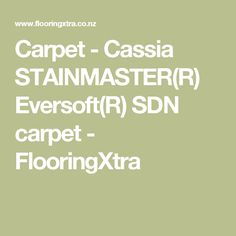 Carpet - Cassia STAINMASTER(R) Eversoft(R) SDN carpet - FlooringXtra