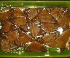 Rezept Mandelecken von rewa-pro - Rezept der Kategorie Backen süß
