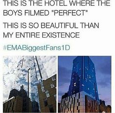 Directioners be walking past and taking pics in front of this building and people will be like WTF are they doing haha Fangirling University, Perfect Music, Capes, Just The Way, Adventure, Building, Walking, British Boys, Magcon