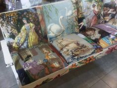 My antique couch made from awsome tapestries