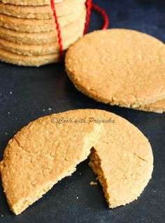 Cook with Priyanka: Homemade Digestive Bicuits/Graham crackers