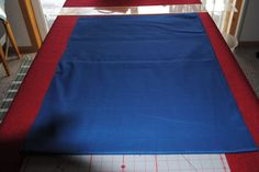 """FABRIC REMNANT 2.17 YARDS NAVY 64""""X44"""""""