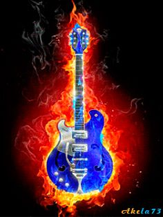 Free animated funny and burning guitar gifs - best animation collection. Guitar Art, Cool Guitar, Gifs, Musik Wallpaper, Heart Wallpaper, Musik Illustration, Mundo Musical, Learn Singing, Gif Photo