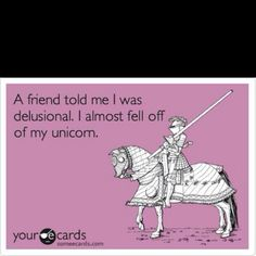 ha ha, I'm quite sure my friends would have told me this - @Katy Stone and @Tami Gomez