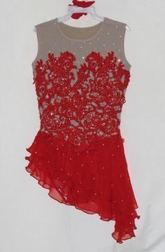 Ice figure skating dress/Spanish/Tap Costume Dance Latino leotard Made to fit in Sporting Goods, Ice Skating, Clothing | eBay