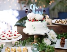 Sophisticated Jade Blue Baby Shower - Inspired By This