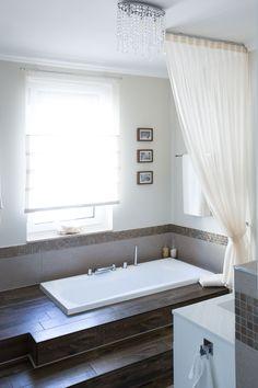 sunk tub Showers, Bathrooms, Sink, Bathtub, Home, Sink Tops, Standing Bath, Vessel Sink, Bathtubs