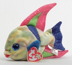 Aruba - fish - Ty Beanie Babies