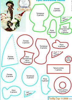 mold d noel dormilon Christmas Ornaments To Make, Christmas Sewing, Felt Ornaments, Christmas Snowman, Handmade Christmas, Snowman Crafts, Christmas Projects, Christmas Crafts, Diy Projects Handmade