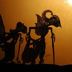 Wayang kulit puppets, from a performance by a troupe from Solo, at the Wayang Museum in Jakarta, Indonesia -- by jpatokal