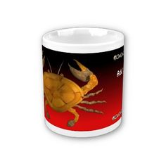Personalized cancer wood crab by Valxart.com Coffee Mug   by valxart for $13.95 is one of 720  designs for 60 years of Chinese zodiac combined with 12 zodiac designs and forecast ,each used on several products . Valxart has designs on 12 zodiac cusp and 60 years of chinese zodiac designs. If you do not see desired year and zodiac sign contact Valxart at info@valx.us for links to desired images.