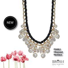 MIDWEEK TREASURES! NEW! NOVO! SHOP ONLINE ► WWW.BROSHBCS.COM #new #collection #necklaces #pearls #autumn #winter #BROSH
