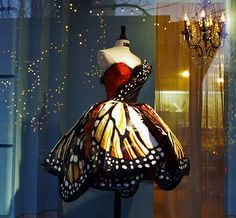 Monarch Butterfly Dress-I don't know where I would wear it to, but it's super cute!