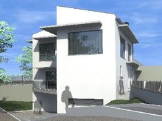 #Casas #Contemporaneo #Exterior #Dibujos #Fachada