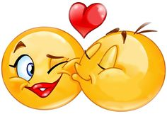 Emoticon Kiss Emoji Vector Images (over Facebook Emoticons, Funny Emoticons, Funny Emoji, Smileys, Smiley Emoji, Images Emoji, Emoji Pictures, Love Smiley, Emoji Love