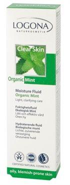 Clear Skin Moisture Fluid Bio Mint #LogonaUSA