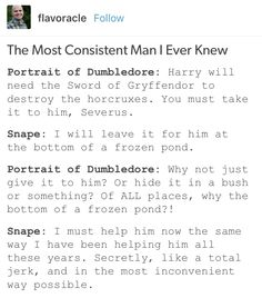 Severus Snape Albus dumbledore Harry Potter