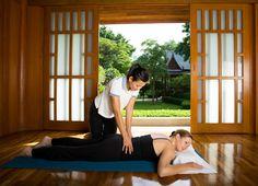 Physiotherapy at Chiva-Som Health Resort, Thailand