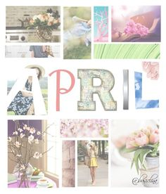 """April"" by basiclina ❤ liked on Polyvore featuring art, inspiration and artexpression"