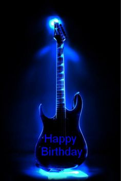 ♫ ♪ ♪ Happy Birthday to my favorite guitarist. Happy Birthday Pictures, Happy Birthday Quotes, Happy Birthday Greetings, Birthday Messages, Happy Birthday Guitar, Birthday Fun, Birthday Blessings, Birthday Posts, Happy B Day