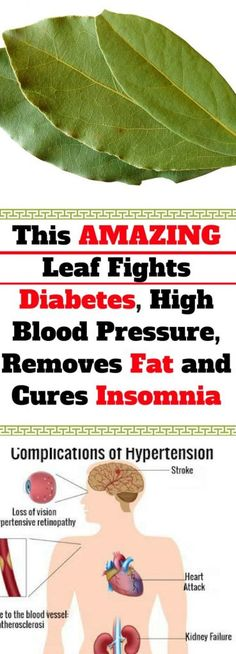 This AMAZING Leaf Fights Diabetes, High Blood Pressure, Removes Fat and Cures Insomnia – FityFit