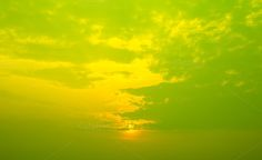 Sky with sunset by Pushish Images on @creativemarket