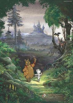 Jigsaw Puzzle 1000 pieces - Marten Toonder - Mr. Bommel: Into the Woods: Amazon.co.uk: Toys & Games Marjolein Bastin, Olie, Film Books, Comic Artist, Fantasy World, Comic Strips, Jigsaw Puzzles, Fairy Tales, Illustrator