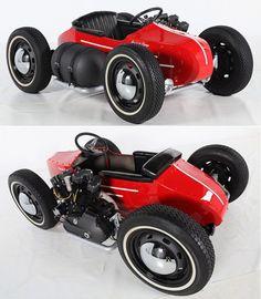 "Motorized sidecar   Harley-Davidson XLH 1000 Sportster ""Ironhead"" engine"