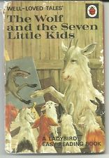 LADYBIRD VINTAGE BOOK - THE WOLF AND SEVEN LITTLE KIDS