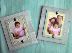 Easy to Make Photo Frames- DIY