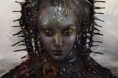 In her on-going series 'L'Afrique!' Dutch artist Ingrid Baars creates portraits…