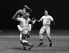Another great shot of the 1975 World Series celebration