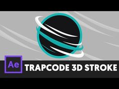 (101) T059 How to 3D Stroke Using Trapcode in After Effects Tutorial - YouTube
