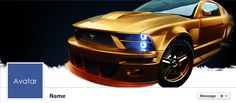 Free Facebook Timeline Cover Photos - Quality-Cover.com: Ford Mustang Facebook Cover