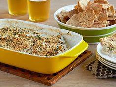 Drunken Goat Cheese Crab Dip Recipe : Patrick and Gina Neely : Food Network - FoodNetwork.com
