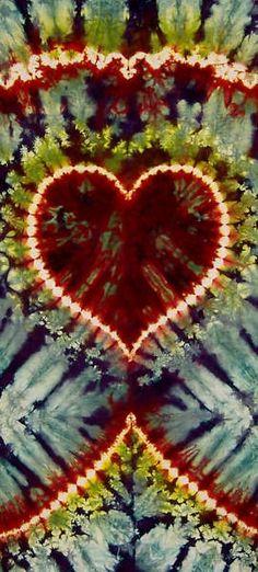 Tie Dye Heart by Merri Frusti