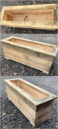 Have you ever think about adding your garden with the wooden pallet planter? If Diy Pallet Projects Adding Garden Pallet Planter Wooden Wood Pallet Planters, Wood Planter Box, Wooden Pallet Projects, Diy Planters, Wooden Pallets, Wooden Diy, Garden Pallet, Pallet Benches, Pallet Tables