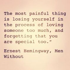 Most painful thing...