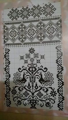 Cross Stitch Embroidery, Cross Stitch Patterns, Cross Stitch Animals, Filet Crochet, Elsa, Needlework, Diy And Crafts, Quilts, Blanket