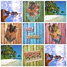 ALL THE BAIGA STUFF  ‼️ IN STOCK ‼️ #baiga #bags #carteras #bolsos #indian #clutch #sobres #india #color #pompon #flecos #cool #style #stylish #moda #fabulous #sun #beach #palms #summer ☀️☀️☀️