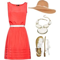 A dash of white, created by idmarryjenny on Polyvore
