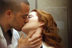 April and Jackson (Sarah Drew & Jesse Williams) on Grey's Anatomy.