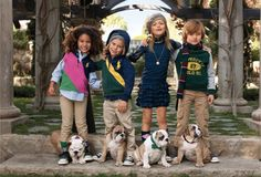 what can be cuter than English Bulldog puppies & kids?