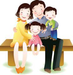 Resultado de imagem para crianças abraço familia clipart