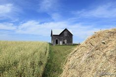 Mountain Road, Manitoba Canada Date shot: August 25, 2013     This old country charmer seems to be solid and still in use. Photo by Linda Le...