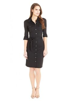 Gilchrist Dress in Black by J.McLaughlin