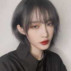 Cute Love Pictures, Cool Anime Girl, Asian Hair, Girl Short Hair, Ulzzang Girl, Girl Photography, Hair Designs, Mullets, Hair Inspo